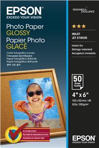 EPSON Photo Paper Glossy 10x15cm 50 listů