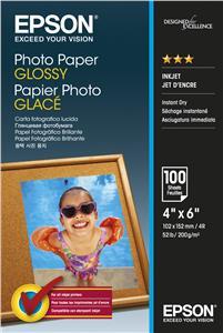 EPSON Photo Paper Glossy 10x15cm 100 listů