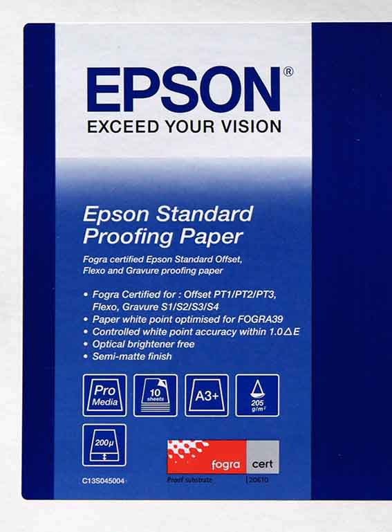 Standard Proofing Paper,DIN A3+,205g/m?,100 Blatt