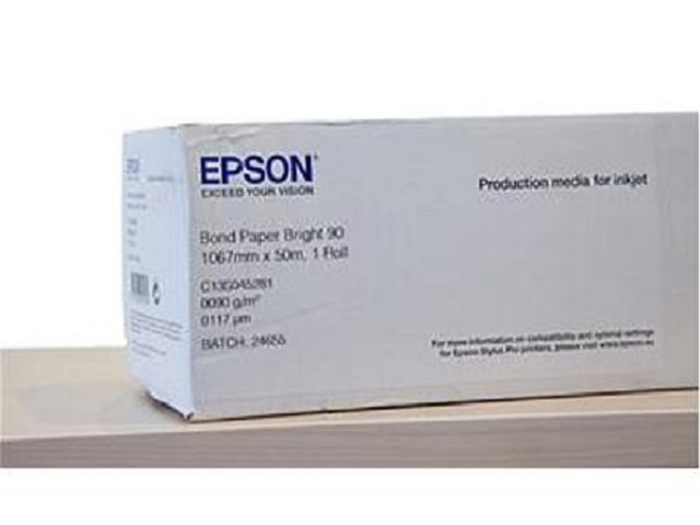 EPSON Bond Paper Bright 90, 1067mm x 50m