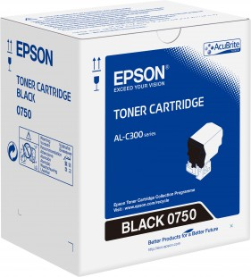 Toner Cartridge Black pro Epson WorkForce AL-C300