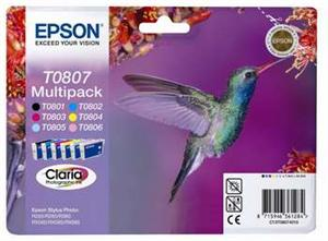 CLARIA  6 Ink Multipack R265/360, RX560 (T0807)