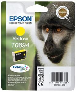 EPSON Yellow Ink Cartridge SX10x 20x 40x  (T0894)