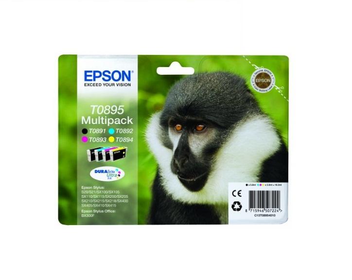 Epson MultiPa. CMYK DURABrite Ultra (T0895) retail