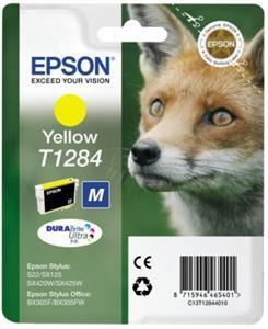 Yellow Ink Cartridge  (T1284)