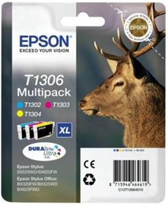Multipack CMY Ink Cartridge  (T1306)