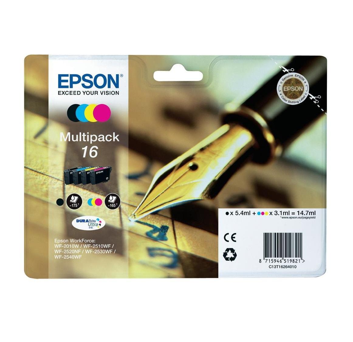 Epson T1626 16 Series 'Pen and Crossword' multip