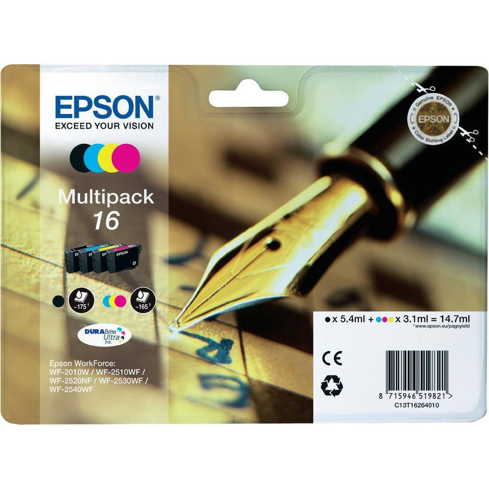 Epson 16 Series 'Pen and Crossword' multipack