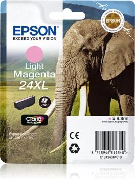 Epson Singl. L. Magenta 24XL Claria Photo HD Ink