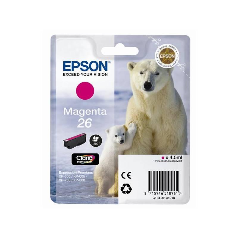 Epson T2613 Singlepack 26 Claria Premium Ink Magen