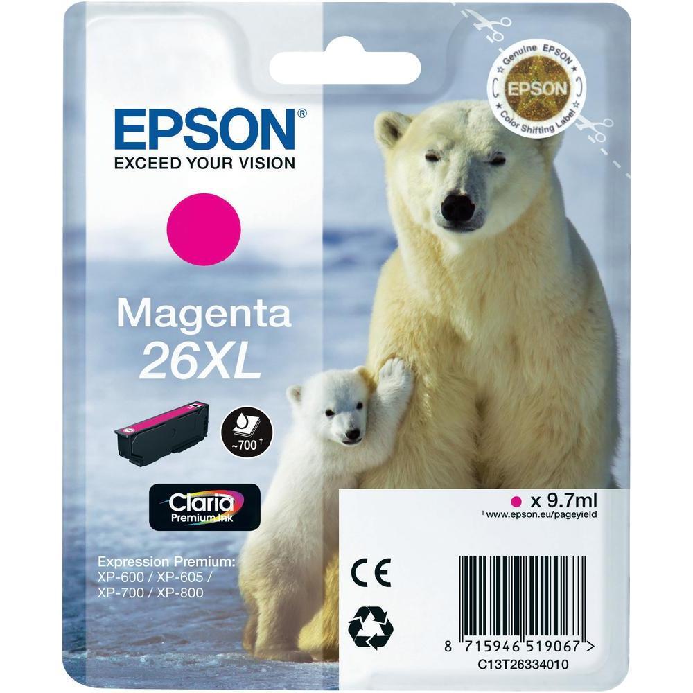 Epson T2633 Singlepack 26XL Claria Premium Magenta