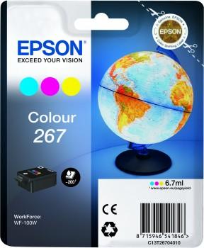 EPSON Singlepack Colour 267 ink cartridge