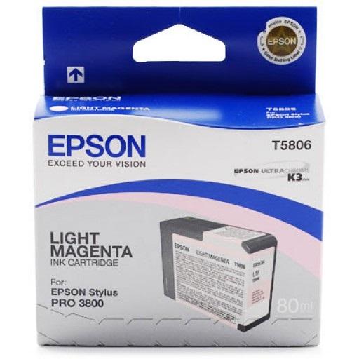 Epson T580B00 Vivid Light Magenta  (80 ml)