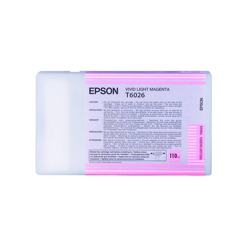 Epson T602 Vivid Light Magenta 110 ml