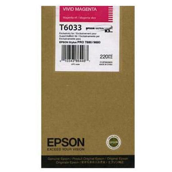 Epson T603 Vivid magenta 220 ml