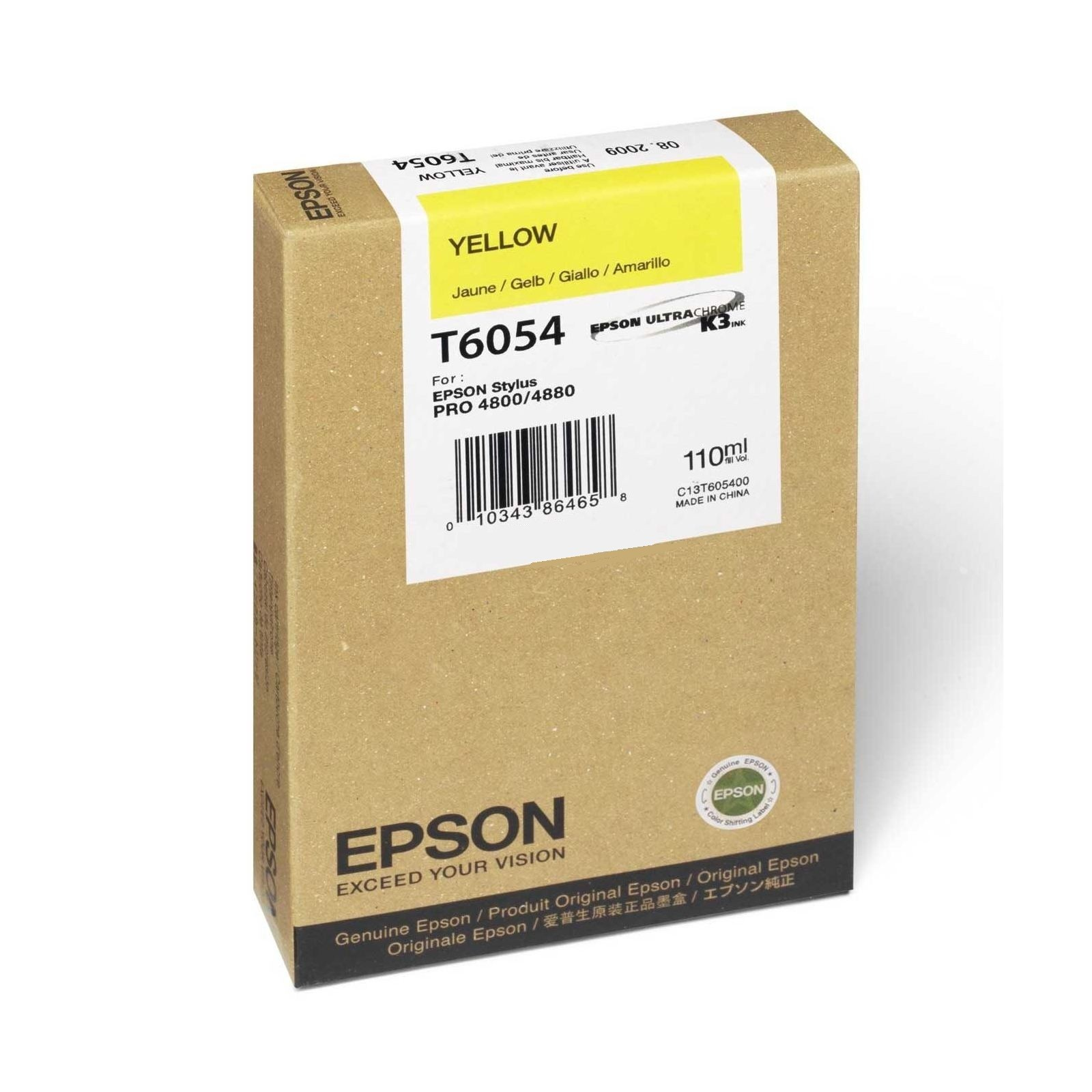 Epson T605 110ml Yellow