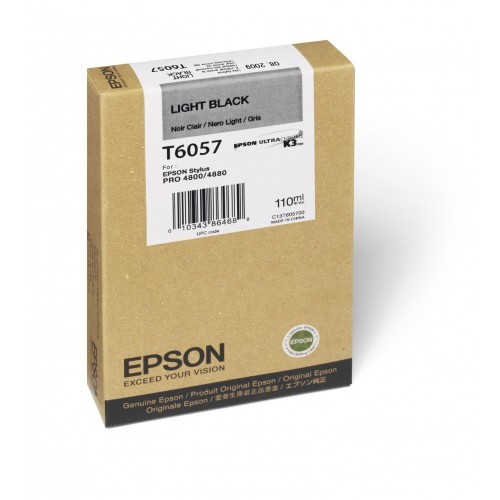 Epson T605 110ml Light Black