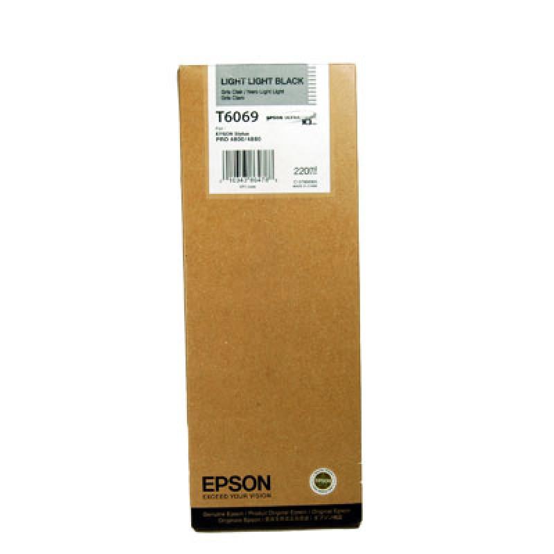 Epson T606 Light Light Black 220 ml
