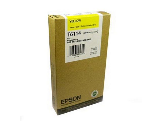 Epson T611 110ml Yellow