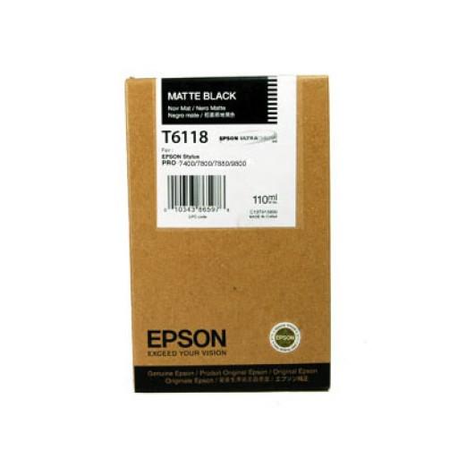 Epson T611 110ml Matte black