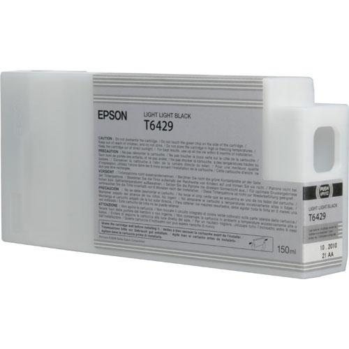 Epson T6429 Light Light Black Ink Cart. (150ml)