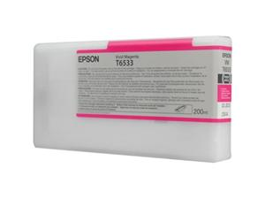 Epson T6533 Vivid Magenta Ink Cartridge (200ml)