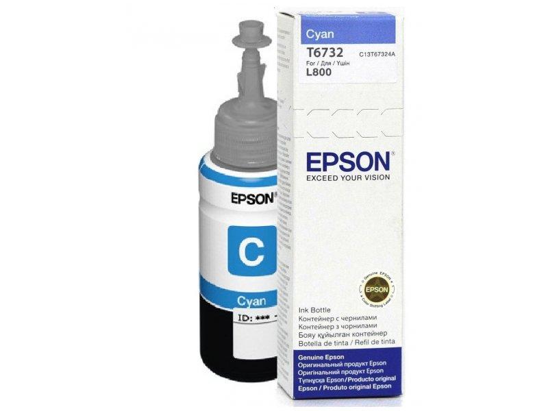 Epson T6732 Cyan ink 70ml  pro L800