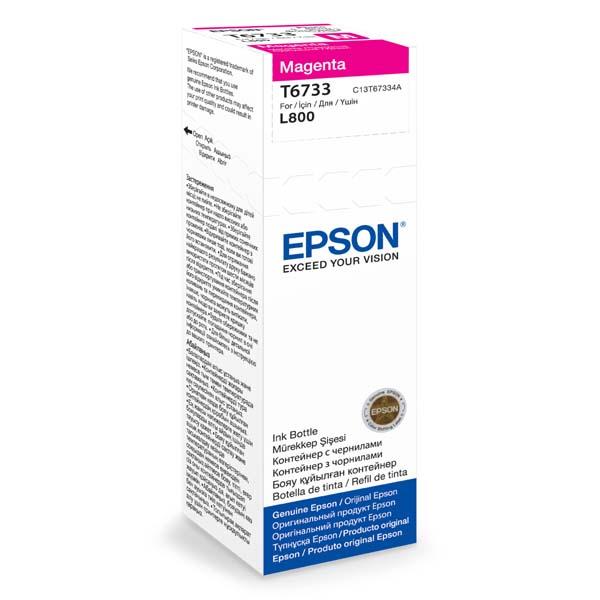 Epson T6733 Magenta ink 70ml  pro L800