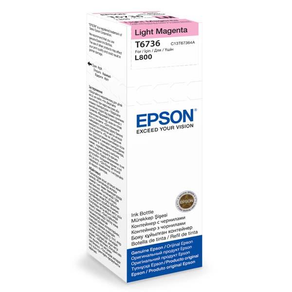 Epson T6736 Light Magenta ink 70ml  pro L800