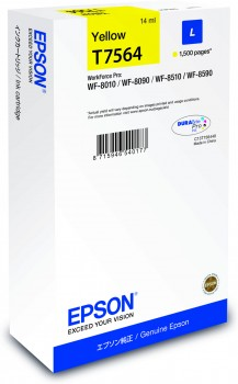 Epson Ink cartridge Yellow DURABrite Pro, size L