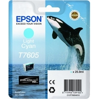 Epson T7605 Ink Cartridge Light Cyan