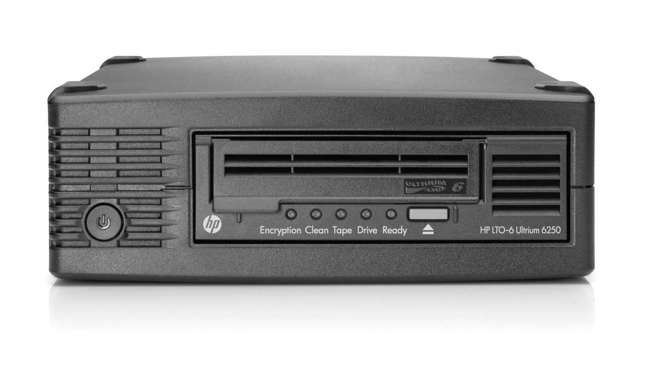 HP LTO-6 Ultrium 6250 Ext Tape Drive