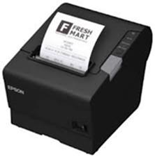 EPSON pokl.TM-T88V,černá,USB+serial,zdroj, kabel - C31CA85033A0