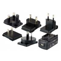 Honeywell ScanPal EDA70,60,50 - KIT,5V/2A PS,5 PLUGS PACKED - zásuvkové adaptéry - 50136024-001