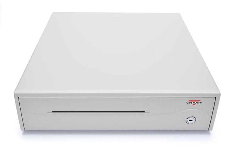 Pokladní zásuvka C420C - bez kabelu, 9-24V, béžová