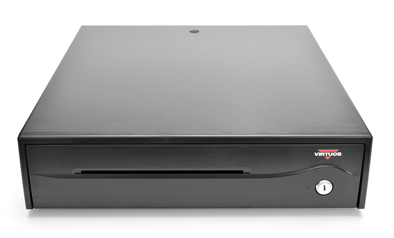 Pokladní zásuvka C420C - s kabelem, 9-24V, černá (náhrada C420B) - EKA0051