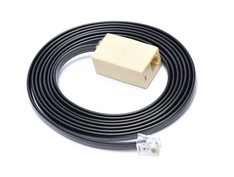 Prodlužovací kabel RJ12 pro pokladní zásuvku,2m,če - EKA9903