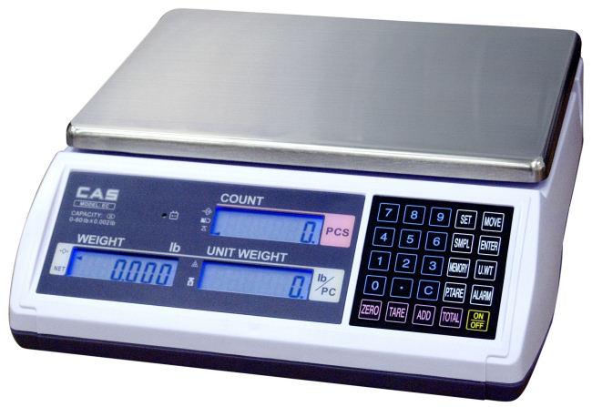 Počítací váha  do 15kg CAS EC-15