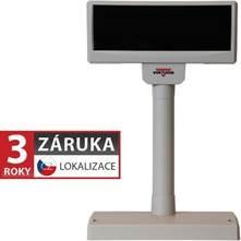 VFD zákaznický displej Virtuos FV-2029M 2x20 9mm, USB, 12V, béžový - EJA1007