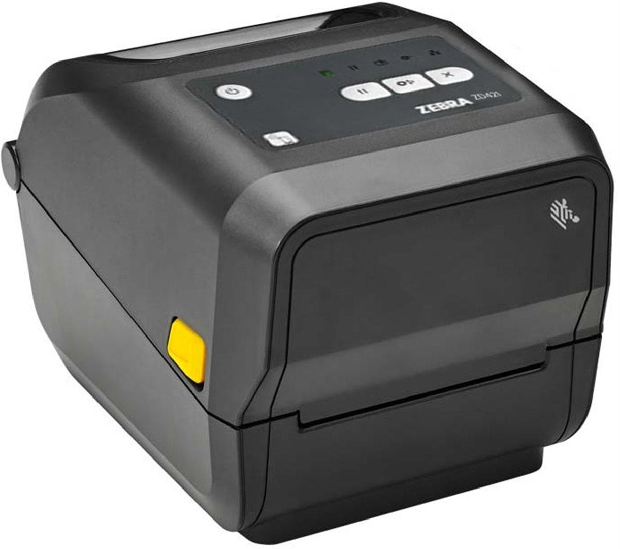 ZD421t - TT, 300 dpi, USB, Wi-Fi- BT - ZD4A043-30EW02EZ
