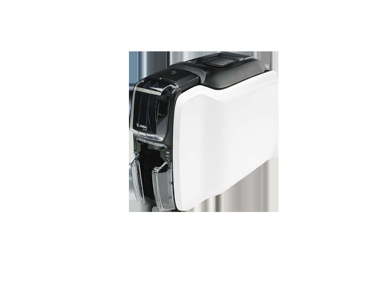 Zebra - tiskárna karet - Printer ZC100, Single Sided, USB & LAN - ZC11-000C000EM00