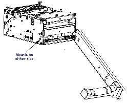 KIOSK - KIT ROLL HOLDER TTP 2000