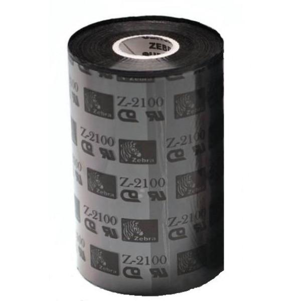 Zebra páska 2100 Wax. šířka 110mm. délka 450m - 02100BK11045