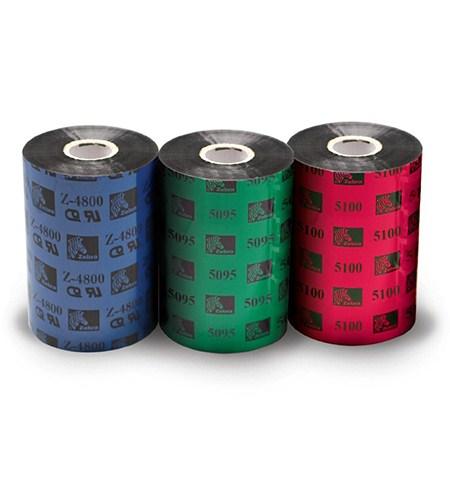 Zebra páska 4800 resin. šířka 80mm. délka 450m - 04800BK08045