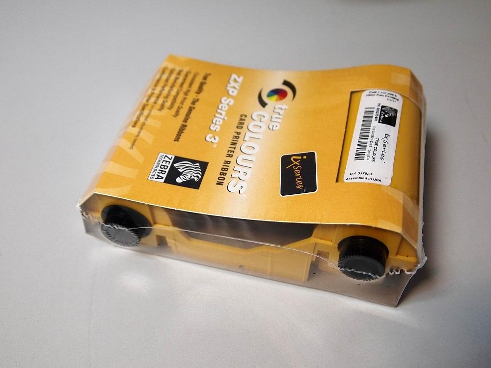 Černý ribbon pro ZXP Series 3 (tisk.plast.karet)