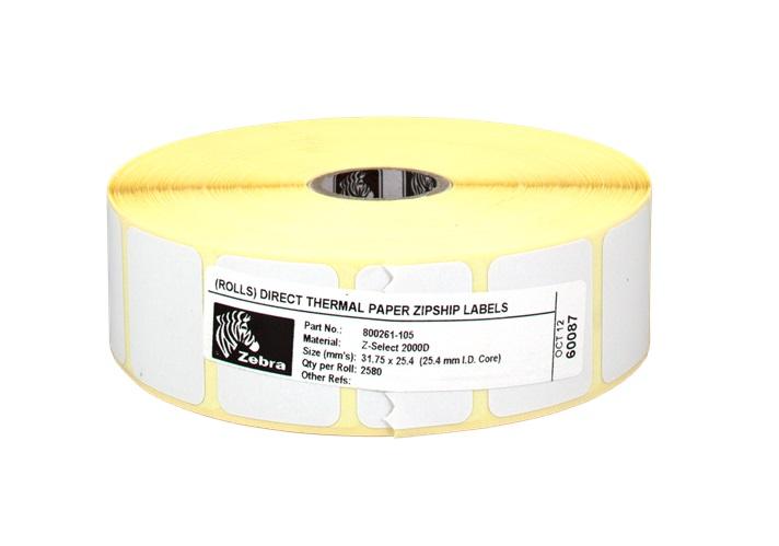 Z-Select 2000D  32 x 25 mm/2580 etiket/role - 800261-105