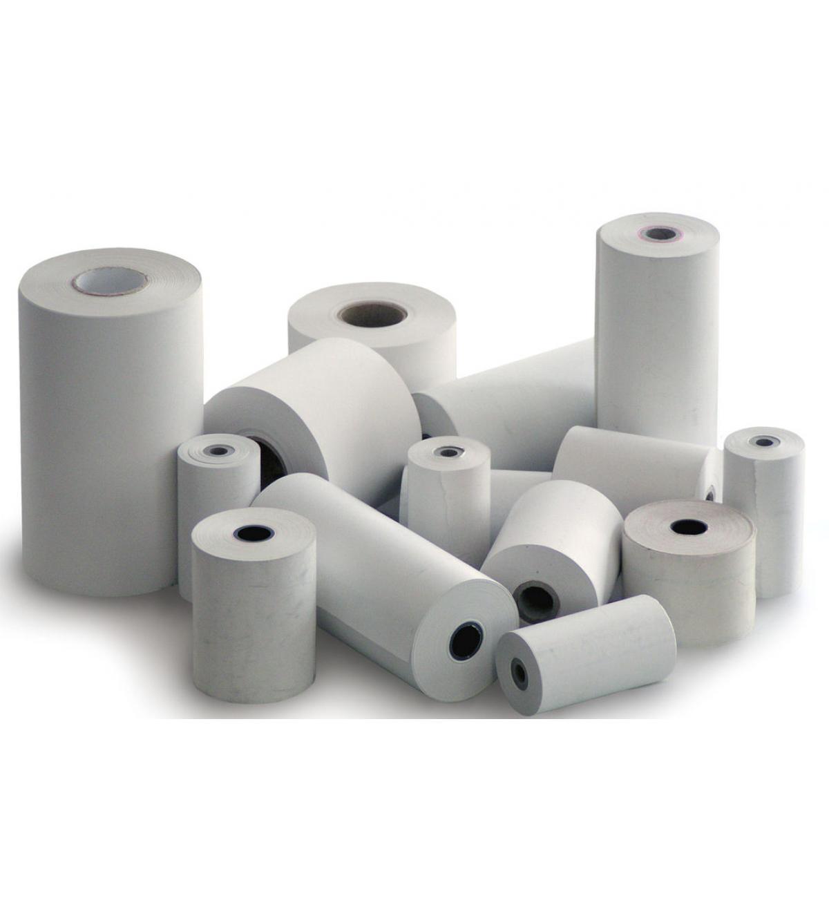 Termopapír šířky 57mm, délka návinu 27m, dutinka 17mm (průměr návinu do 50mm)  10 pack (CHD, 150TE)