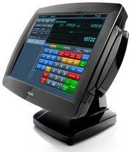 """PPD 3000. 15"""" dotykový monitor USB/serial, černý"""