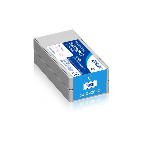 Ink cartridge for TM-C3500 (Cyan) - C33S020602