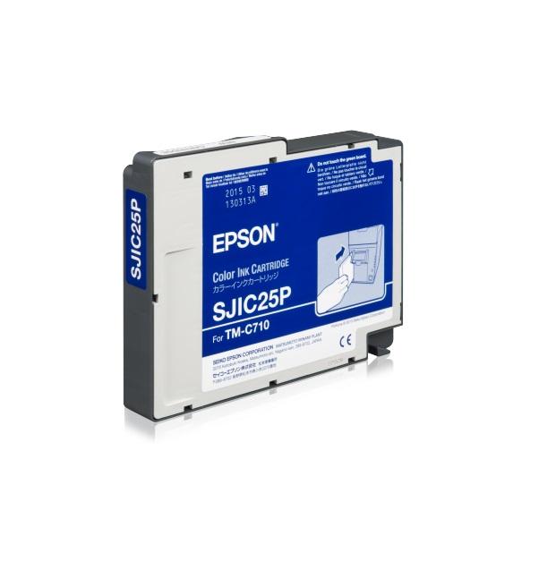 Epson SJIC25P cartridge for TM-C710 - C33S020591
